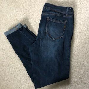 1822 Denim Cuffed Jeans EUC